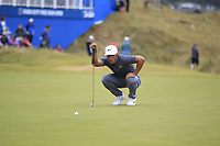 Thorbjorn Olesen (DEN) on the 18th during Round 3 of the Dubai Duty Free Irish Open at Ballyliffin Golf Club, Donegal on Saturday 7th July 2018.<br /> Picture:  Thos Caffrey / Golffile