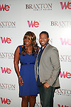 Meli'sa Morgan and Anwar Robinson attend Premiere Screening of BRAXTON FAMILY VALUES Season 2 Held at Tribeca Grand, NY 11/8/11