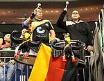 12.01.2019, Mercedes Benz Arena, Berlin, GER, Germany vs. Brazil, im Bild Zuschauer, Besucher, Trommeln<br /> <br />      <br /> Foto &copy; nordphoto / Engler
