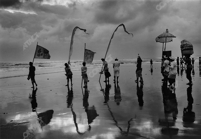 Festival of the sea gods, Bali, Indonesia, 1984