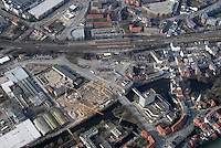 Fachmarktcenter: EUROPA, DEUTSCHLAND, HAMBURG, (EUROPE, GERMANY), 10.03.2007: Bergedorf, Strasse, Weidenbaumsweg, Stuhlrohrstrasse, Sander Damm, Alte Holstenstrasse Neubau, Baustelle, Post, Moschee, ZOB, Bus, Busbahnhof, Luftbild, Luftansicht, Air..c o p y r i g h t : A U F W I N D - L U F T B I L D E R . de.G e r t r u d - B a e u m e r - S t i e g 1 0 2, .2 1 0 3 5 H a m b u r g , G e r m a n y.P h o n e + 4 9 (0) 1 7 1 - 6 8 6 6 0 6 9 .E m a i l H w e i 1 @ a o l . c o m.w w w . a u f w i n d - l u f t b i l d e r . d e.K o n t o : P o s t b a n k H a m b u r g .B l z : 2 0 0 1 0 0 2 0 .K o n t o : 5 8 3 6 5 7 2 0 9.C o p y r i g h t n u r f u e r j o u r n a l i s t i s c h Z w e c k e, keine P e r s o e n l i c h ke i t s r e c h t e v o r h a n d e n, V e r o e f f e n t l i c h u n g  n u r  m i t  H o n o r a r  n a c h M F M, N a m e n s n e n n u n g  u n d B e l e g e x e m p l a r !.