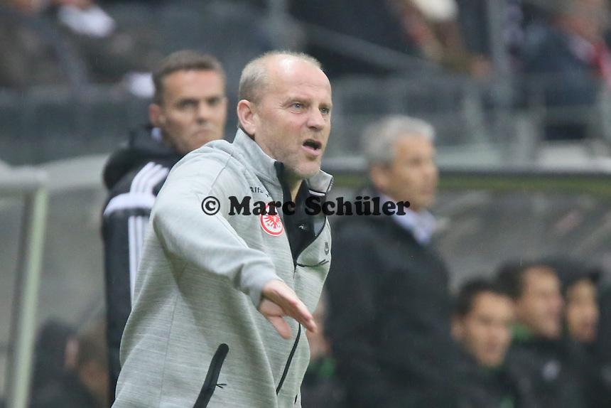 Trainer Thomas Schaaf (Eintracht) - Eintracht Frankfurt vs. Borussia Mönchengladbach, DFB-Pokal 2. Runde, Commerzbank Arena