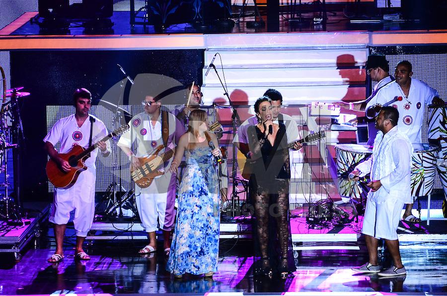 ATENCAO EDITOR: FOTO EMBARGADA PARA VEICULOS INTERNACIONAIS. - RIO DE JANEIRO, RJ,19 DE SETEMBRO 2012 - PREMIO MULTISHOW 2012-Ivete Sangalo na cerimonia de entrega do Premio Multishow na noite desta terca dia 18 de setembro, no HSBC Arena, na Barra da Tijuca, zona oestedo Rio de Janeiro.(FOTO: MARCELO FONSECA / BRAZIL PHOTO PRESS).