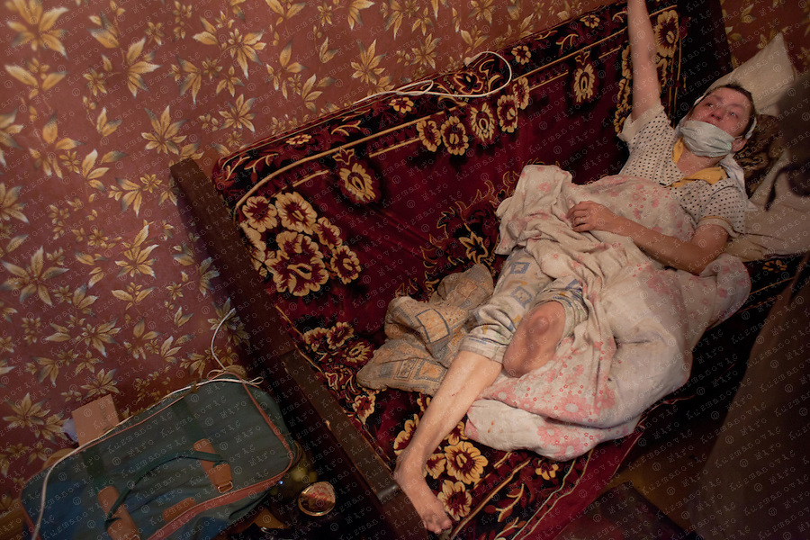 Documenting the echos of Chernobyl Tragedy, Tamara Jewdokia, Sergej, Ina und Julia