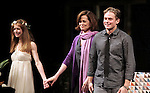 Genevieve Angelson, Sigourney Weaver, Billy Magnussen during the Broadway Opening Night Performance of 'Vanya and Sonia and Masha and Spike' at the Golden Theatre in New York City on 3/14/2013.