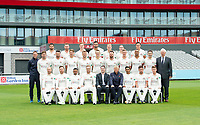 Picture By Allan McKenzie/SWpix.com - 11/04/18 - Cricket - Lancashire County Cricket Club Photo Call Media Day 2018 - Emirates Old Trafford, Manchester, England - Lancashire County Cricket Club Team Photo 2018 with Hilton.