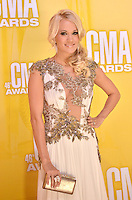 NASHVILLE, TN - NOVEMBER 1: Carrie Underwood on the Macy's Red Carpet at the 46th Annual CMA Awards at the Bridgestone Arena in Nashville, TN on Nov. 1, 2012. © mpi99/MediaPunch Inc. ***NO GERMANY***NO AUSTRIA***