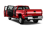 Car images close up view of a 2015 Chevrolet Silverado 2500 4 Door Van doors