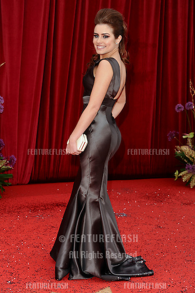 Rachel Shenton arrives at the British Soap awards 2011 held at the Granada Studios, Manchester..14/05/2011  Picture by Steve Vas/Featureflash