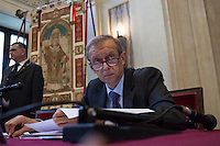 Milano 24-09-2013: Piero Fassino sindaco di Torino                                 Milan 24-09-2013: Piero Fassino Major of turin