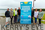 Launching the Tarbert Summer Festival 2019 in Tarbert on Tuesday, which is going ahead from the 9th to the 11th August. L to r: Michael Lanigan, Susanne Harrisson, John Mulvihill, Brendan Kissane, Brian Carey, Julie Finucane and Liz Bogan