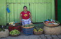 26/02/16 <br /> <br /> A woman waits for customers by her market stall in Granada, Nicaragua.<br /> <br /> All Rights Reserved: F Stop Press Ltd. +44(0)1335 418365   +44 (0)7765 242650 www.fstoppress.com