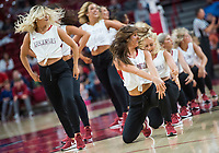 Hawgs Illustrated/BEN GOFF <br /> Red squad vs white squad Friday, Oct. 19, 2018, during the Arkansas Red and White scrimmage at Bud Walton Arena in Fayetteville.