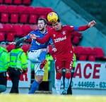 23.02.2020 St Johnstone v Rangers: Stevie May and James Tavernier