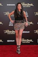"04 April 2016 - Hollywood, California - Ronni Hawk. ""The Jungle Book"" Los Angeles Premiere held at the El Capitan Theatre. Photo Credit: Sammi/AdMedia"