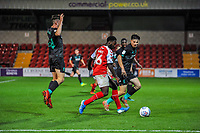 /ft46/during the The Leasing.com Trophy match between Fleetwood Town and Liverpool U21 at Highbury Stadium, Fleetwood, England on 25 September 2019. Photo by Stephen Buckley / PRiME Media Images.