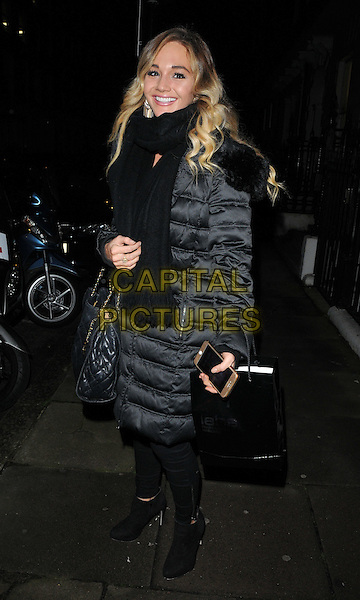 Riva Parvin attends the &quot;Perfect Eyelashes: The Ultimate Guideto Lash Extensions&quot; book launch party, Skin Associates, Wimpole Street, London, England, UK, on Thursday 26 November 2015.<br /> CAP/CAN<br /> &copy;CAN/Capital Pictures