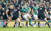 19th November 2016 | IRELAND vs NEW ZEALAND<br /> <br /> Devin Toner during the Autumn Series International clash between Ireland and New Zealand at the Aviva Stadium, Lansdowne Road, Dublin,  Ireland. Photo by John Dickson/DICKSONDIGITAL