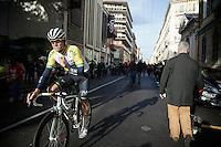 Heinrich Haussler (AUS/IAM) post-race<br /> <br /> 106th Milano - San Remo 2015