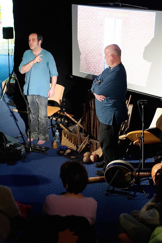 Festival Les Petits Riens - <br /> Jean-Luc THOMAS et David 'Hopi' HOPKINS