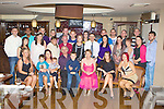 Francis O'Brien Killarney seated centre who celebrated his 60th birthday with his family and friends in the International Hotel Killarney on Monday night