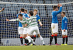 Josh Kerr scores the opening goal for Celtic as Rangers are in disarray
