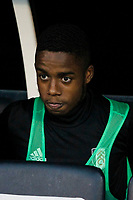 Transfer target Fulham's Ryan Sessegnon seen during the Carabao Cup match between Fulham and Bristol Rovers at Craven Cottage, London, England on 22 August 2017. Photo by Carlton Myrie.