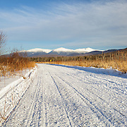 This is the image for January in the 2016 New Hampshire calendar. Scenic view of the Presidential Range from Pondicherry Wildlife Refuge in Jefferson, New Hampshire USA. The calendar can be purchased here: http://bit.ly/1AJwgpB