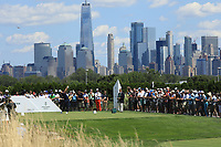 Justin Rose (ENG) in action during the final round of the Northern Trust played at Liberty National Golf Club, Jersey City, USA. 11/08/2019<br /> Picture: Golffile | Phil INGLIS<br /> <br /> All photo usage must carry mandatory copyright credit (© Golffile | Phil INGLIS)