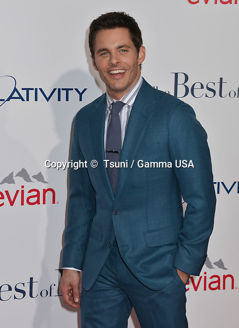 James Marsden at the The Best of Me premiere at the Regal Theatre inLos Angeles.