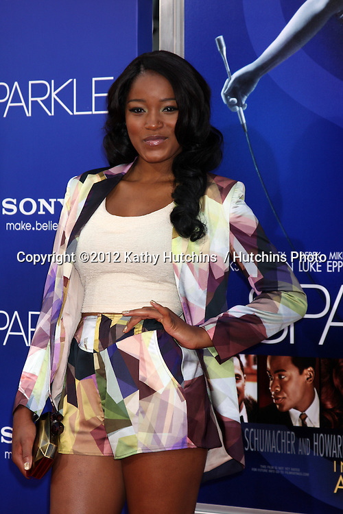 """Los Angeles - AUG 16:  Keke Palmer arrives at the """"Sparkle""""  Premiere at Graumans Chinese Theater on August 16, 2012 in Los Angeles, CA"""