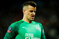3rd March 2020; The Hawthorns, West Bromwich, West Midlands, England; English FA Cup Football, West Bromwich Albion versus Newcastle United; Karl Darlow of Newcastle United rues a missed opportunity