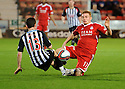 PARS PATRICK BOYLE GETS HIMSELF BOOKED FOR THIS CHALLENGE ON ABERDEEN'S FRASER FYVIE