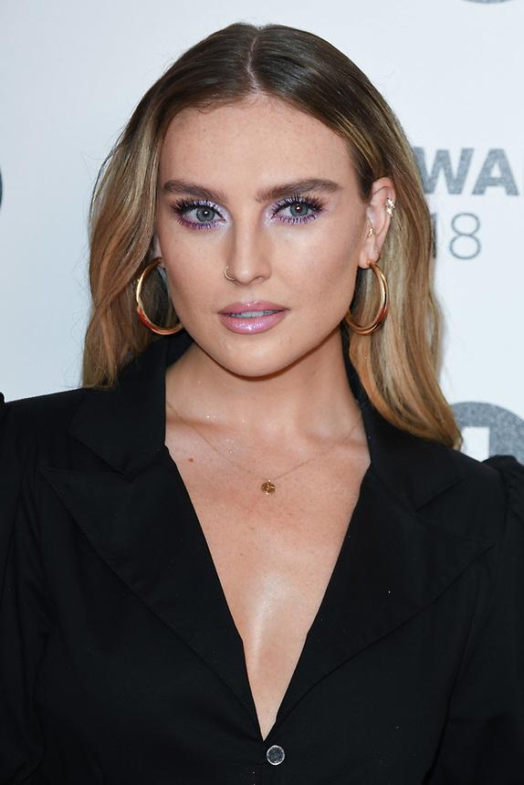 Perrie Edwards<br /> arriving for the Radio 1 Teen Awards 2018 at Wembley Stadium, London<br /> <br /> ©Ash Knotek  D3454  21/10/2018