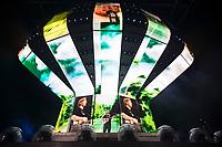 SAO PAULO,SP 14.02.2019 - SHOW-SP - O cantor Ed Sheeran durante show realizado na Arena Allianz Parque em Sao Paulo, na noite desta quinta-feira, 14. (Foto: Levi Bianco/Brazil Photo Press)