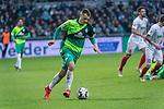 10.02.2019, Weser Stadion, Bremen, GER, 1.FBL, Werder Bremen vs FC Augsburg, <br /> <br /> DFL REGULATIONS PROHIBIT ANY USE OF PHOTOGRAPHS AS IMAGE SEQUENCES AND/OR QUASI-VIDEO.<br /> <br />  im Bild<br /> Maximilian Eggestein (Werder Bremen #35)<br /> Einzelaktion, Ganzk&ouml;rper / Ganzkoerper<br /> <br /> <br /> Foto &copy; nordphoto / Kokenge