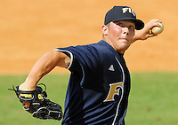 24 February 2008: Florida International left-handed pitcher Evan Ellison (11) throws in the Southern California 12-7 victory over FIU at University Park Stadium in Miami, Florida.