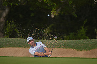 Padraig Harrington (IRL) hits from the trap on 6 during day 2 of the Valero Texas Open, at the TPC San Antonio Oaks Course, San Antonio, Texas, USA. 4/5/2019.<br /> Picture: Golffile | Ken Murray<br /> <br /> <br /> All photo usage must carry mandatory copyright credit (&copy; Golffile | Ken Murray)