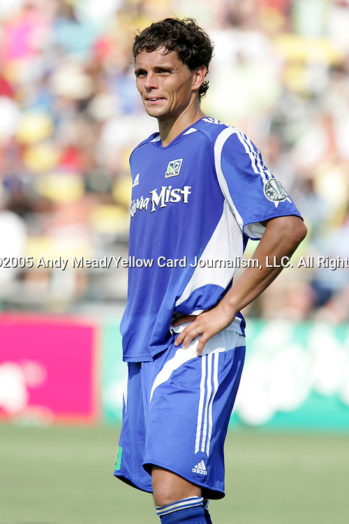 30 July 2005: Simo Valakari. Major League Soccer's All-Stars defeated Fulham FC of the English Premier League 4-1 at Columbus Crew Stadium in Columbus, Ohio in the 2005 Sierra Mist MLS All-Star Game.