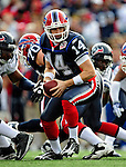 1 November 2009: Buffalo Bills' quarterback Ryan Fitzpatrick (14) in action against the Houston Texans at Ralph Wilson Stadium in Orchard Park, New York, USA. The Texans defeated the Bills 31-10. Mandatory Credit: Ed Wolfstein Photo