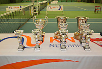 March 15, 2015, Netherlands, Rotterdam, TC Victoria, NOJK, trophy<br /> Photo: Tennisimages/Henk Koster