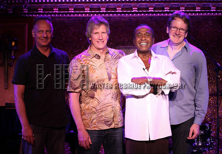 Ben Vereen & band members David Loeb, Marc Dicianni, Tome Kennedy  performing a special preview performance at 54 Below in New York City on 7/10/2012 © Walter McBride/WM Photography