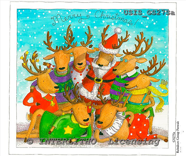 Ingrid, CHRISTMAS SANTA, SNOWMAN, WEIHNACHTSMÄNNER, SCHNEEMÄNNER, PAPÁ NOEL, MUÑECOS DE NIEVE, paintings+++++,USISGS27SA,#X# vintage