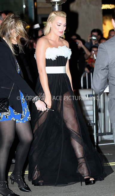 WWW.ACEPIXS.COM<br /> <br /> February 24 2015, Los Angeles Ca<br /> <br /> Actress Margot Robbie arriving at the premiere of 'Focus' at the TCL Chinese Theater on February 24, 2015 in Los Angeles, California.<br /> <br /> <br /> Please byline: Nancy Rivera/ACE Pictures<br /> <br /> ACE Pictures, Inc.<br /> www.acepixs.com, Email: info@acepixs.com<br /> Tel: 646 769 0430