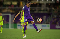 Orlando, FL - Thursday September 07, 2017: Marta Vieira Da Silva during a regular season National Women's Soccer League (NWSL) match between the Orlando Pride and the Seattle Reign FC at Orlando City Stadium.