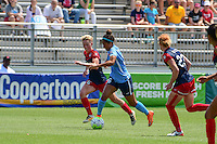 Boyds, MD - Sunday July 31, 2016: Joanna Lohman, Domi Richardson during a regular season National Women's Soccer League (NWSL) match between the Washington Spirit and Sky Blue FC at Maureen Hendricks Field, Maryland SoccerPlex.