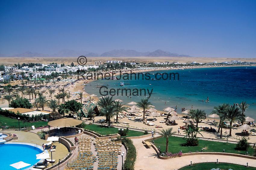 EGY, Aegypten, Sinai-Halbinsel, Sharm El Sheikh: Naama Bay | EGY, Egypt, Sinai peninsula, Sharm El Sheikh: Naama Bay