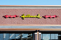Hallmark Greeting Card store, Mount Laural, New Jersey, USA