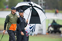 Thomas Pieters (BEL) and Thomas Detry (BEL) during the second day of the World cup of Golf, The Metropolitan Golf Club, The Metropolitan Golf Club, Victoria, Australia. 23/11/2018<br /> Picture: Golffile | Anthony Powter<br /> <br /> <br /> All photo usage must carry mandatory copyright credit (© Golffile | Anthony Powter)