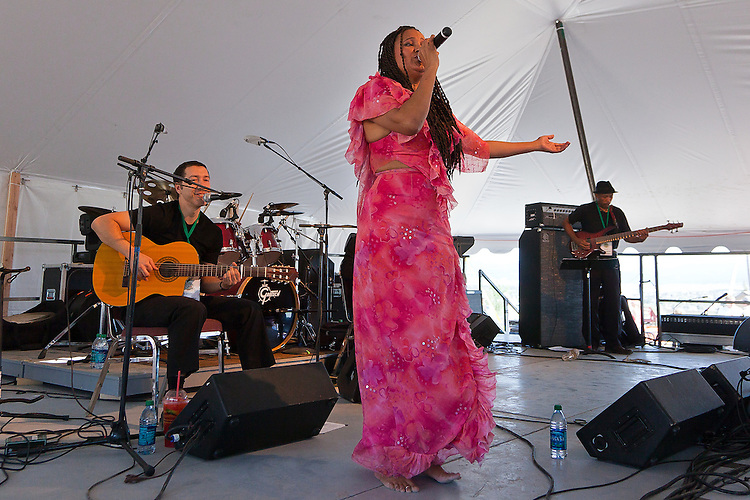 Cape Verde songstress performs at the Montana Folk Festival